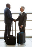 Business travellers meeting Stock Image