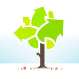 Business tree is fruitful Royalty Free Stock Photo
