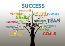 Business Tree Growth Stock Photos