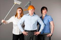 Business trio Stock Photo