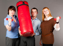 Business trio Stock Photography