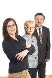 Business Trio stock image