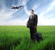 Business trip Stock Photo