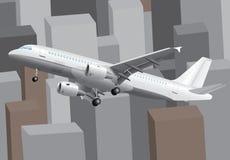Business trip vector illustration