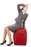 Business trip Royalty Free Stock Images