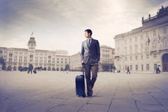 Business trip Stock Image