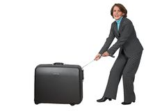 Business trip - can't happen Stock Photography