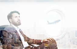 Business trip concept Royalty Free Stock Images