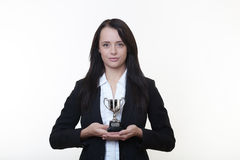 Business trophy Stock Photography