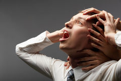 Business troubles Stock Image