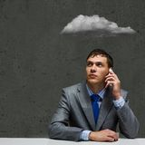 Business troubles Stock Images