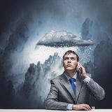 Business troubles Royalty Free Stock Images