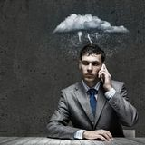 Business troubles Royalty Free Stock Photos