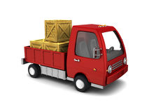Business truck Stock Photography