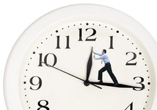 Business turning back time Stock Photos
