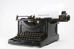 Business Typewriter Stock Images
