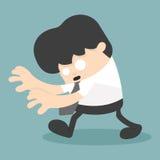 Business unconscious. Illustration Cartoons concepts stock illustration