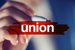 Business union concept Stock Photos