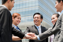 Business unity Royalty Free Stock Image