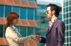 Business Unwritten Agreement Stock Photo