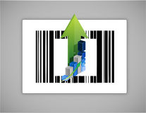 Business upc or barcode Royalty Free Stock Photos