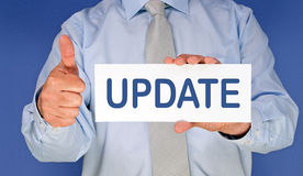 Business update Stock Photo