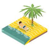 Business vacation Stock Image