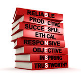 Business values Stock Images