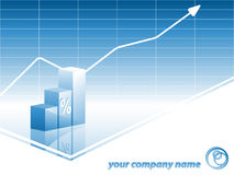 Business vector backdrop Royalty Free Stock Photography