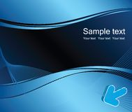 Business vector background. Blue business abstract vector background Stock Photo
