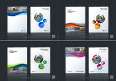 Business vector. Brochure template layout, cover design annual r vector illustration