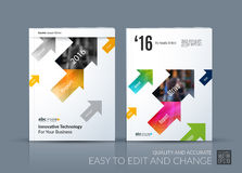 Business vector. Brochure template layout, cover modern design a Royalty Free Stock Photos