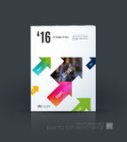 Business vector. Brochure template layout, cover modern design a Royalty Free Stock Image