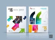 Business vector. Brochure template layout, cover modern design a Stock Photo