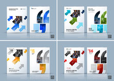 Business vector. Brochure template layout, cover modern design a Royalty Free Stock Images