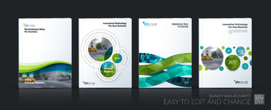 Business vector. Brochure template layout, cover soft design ann Royalty Free Stock Photos