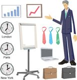 Business vector design elements Royalty Free Stock Photo