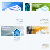 Business vector design elements for graphic layout. Modern abstr. Act background template with colourful building shapes for construction, house, home theme.r stock photos