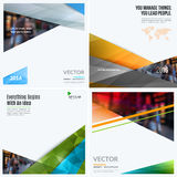 Business vector design elements for graphic layout. Modern abstr. Act background template with colourful diagonal, triangular shapes for PR, business, tech in royalty free stock image