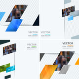 Business vector design elements for graphic layout. Modern abstr. Act background template with colourful diagonal, triangular shapes for PR, business, tech in royalty free stock photo