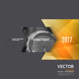 Business vector design elements for graphic layout. Modern abstr. Act background template with colourful rectangles, arrows, shadows for tech, market, innovative Royalty Free Stock Images