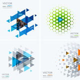 Business vector design elements for graphic layout. Modern abstr. Act background template with colourful triangles, geometric shapes for tech, market, innovative stock images