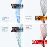 Business vector design elements for graphic layout. Modern abstr Royalty Free Stock Images