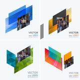 Business vector design elements for graphic layout. Modern abstr. Act background template ith colourful diagonal abstract shapes for construction, teamwork theme stock image