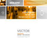 Business vector design elements for graphic layout. Modern abstr Royalty Free Stock Photography