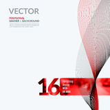 Business vector design elements for graphic layout. Modern abstr Royalty Free Stock Photo