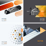 Business vector design elements for graphic layout. Modern abstr. Act background template with yellow squares, triangles, diagonal geometric shapes for tech in stock images