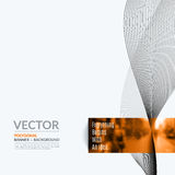 Business vector design elements for graphic layout. Modern abstr Stock Image