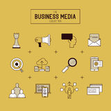 Business Vector Icon Set vector illustration