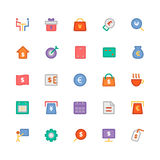 Business Vector Icons 9 Royalty Free Stock Photos